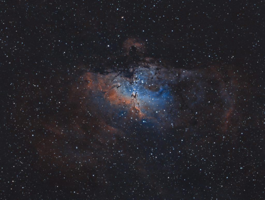 Eagle Nebula in HOO